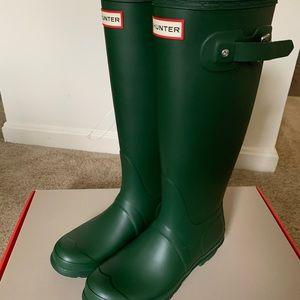 Hunter women's rain tall boots